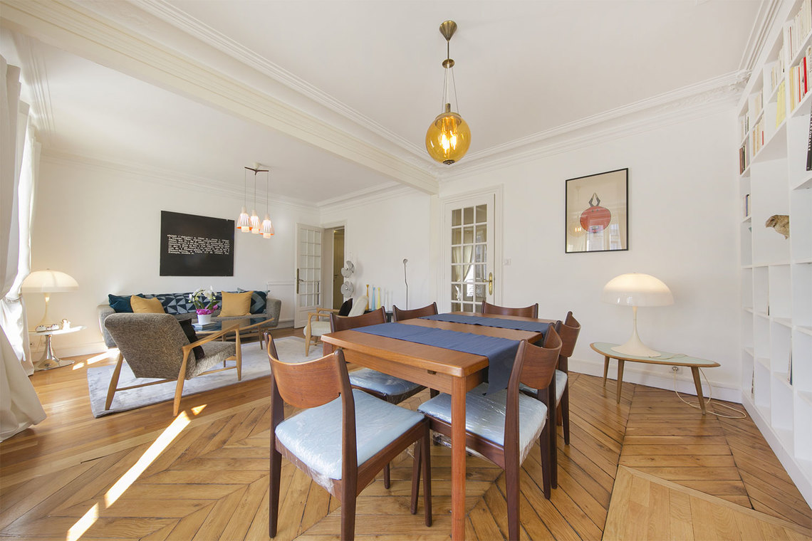 Apartment Paris Boulevard Gouvion Saint Cyr 5