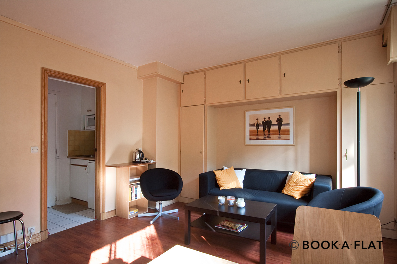 Appartement Paris Avenue Emile Bergerat 2
