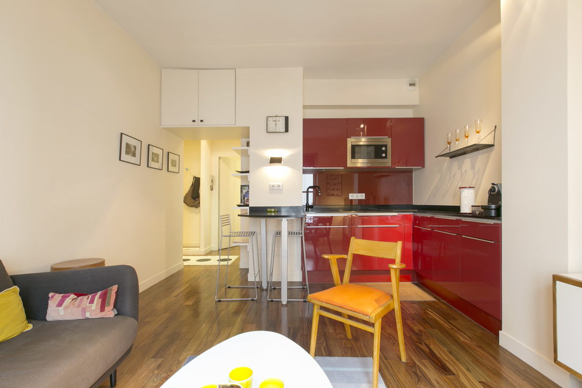 Appartement Paris Rue Monge 5