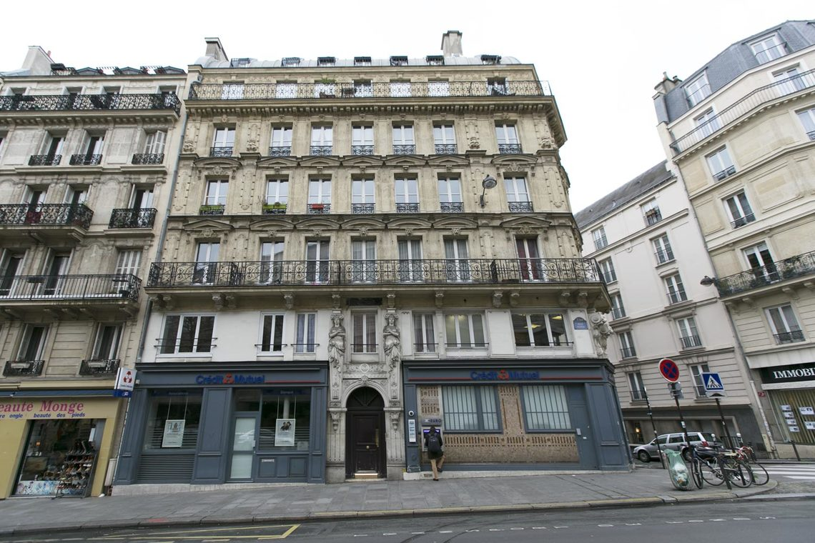 Appartement Paris Rue Monge 15