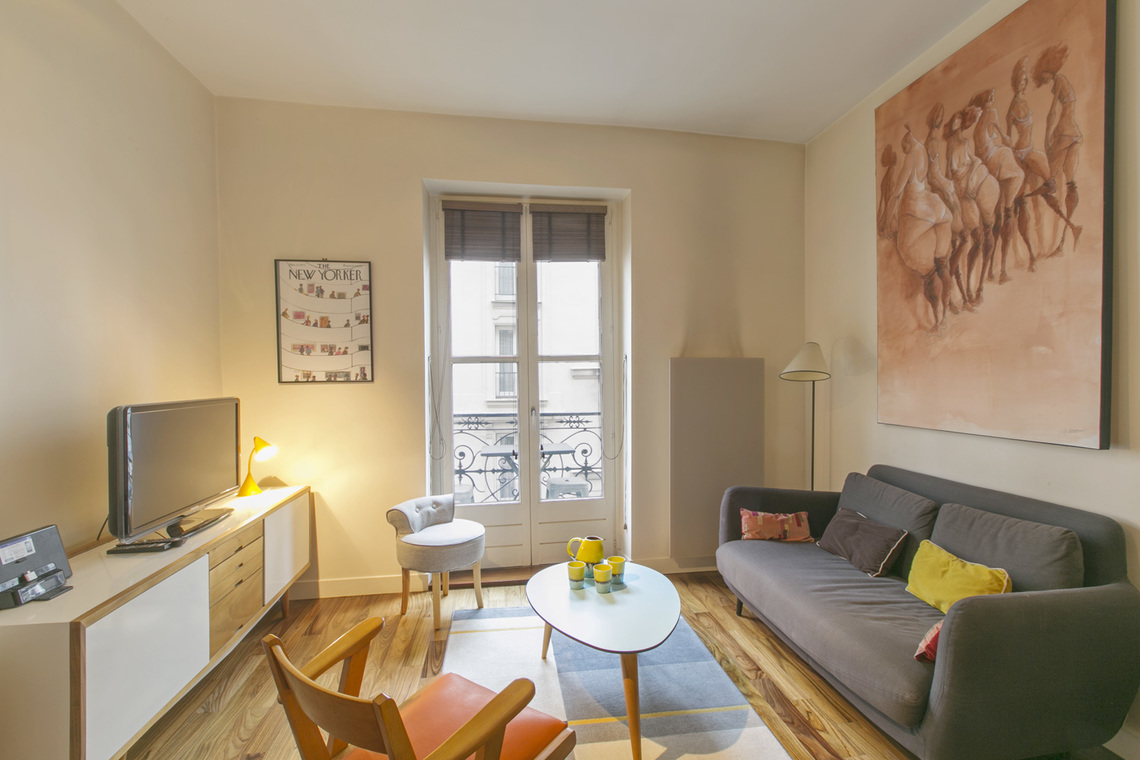 Location appartement meubl rue monge paris ref 14530 for Location appartement non meuble paris