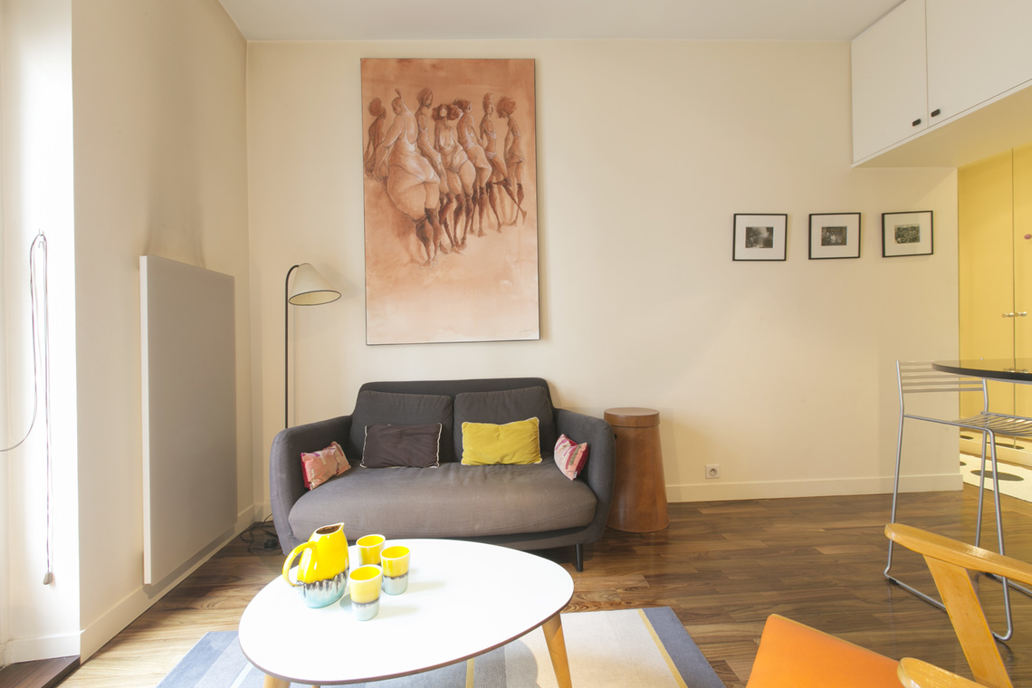 Appartement Paris Rue Monge 2