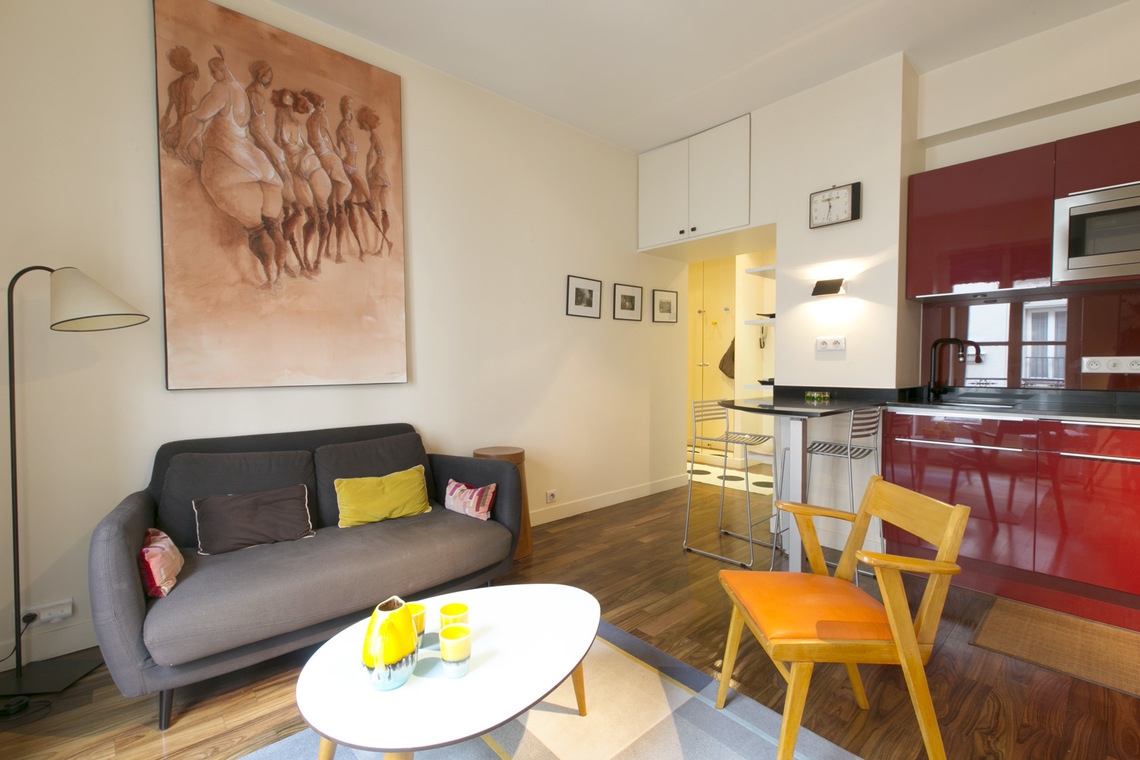 Appartement Paris Rue Monge 3