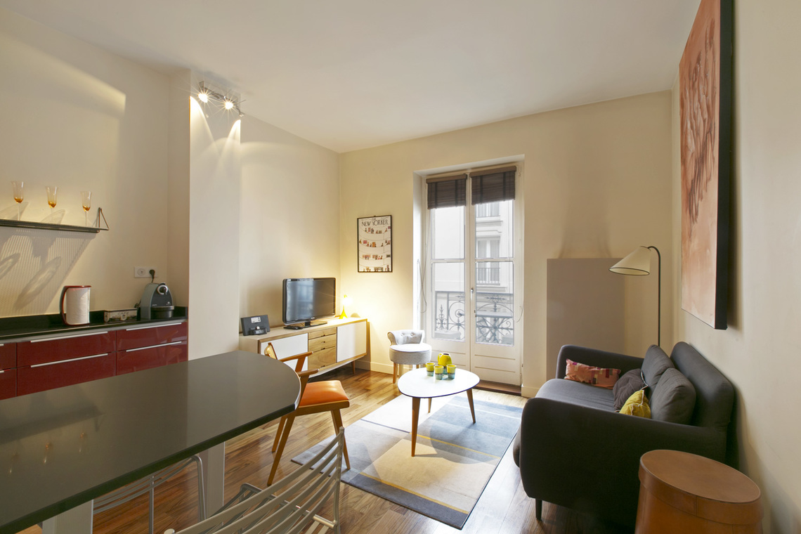 Appartement Paris Rue Monge 4