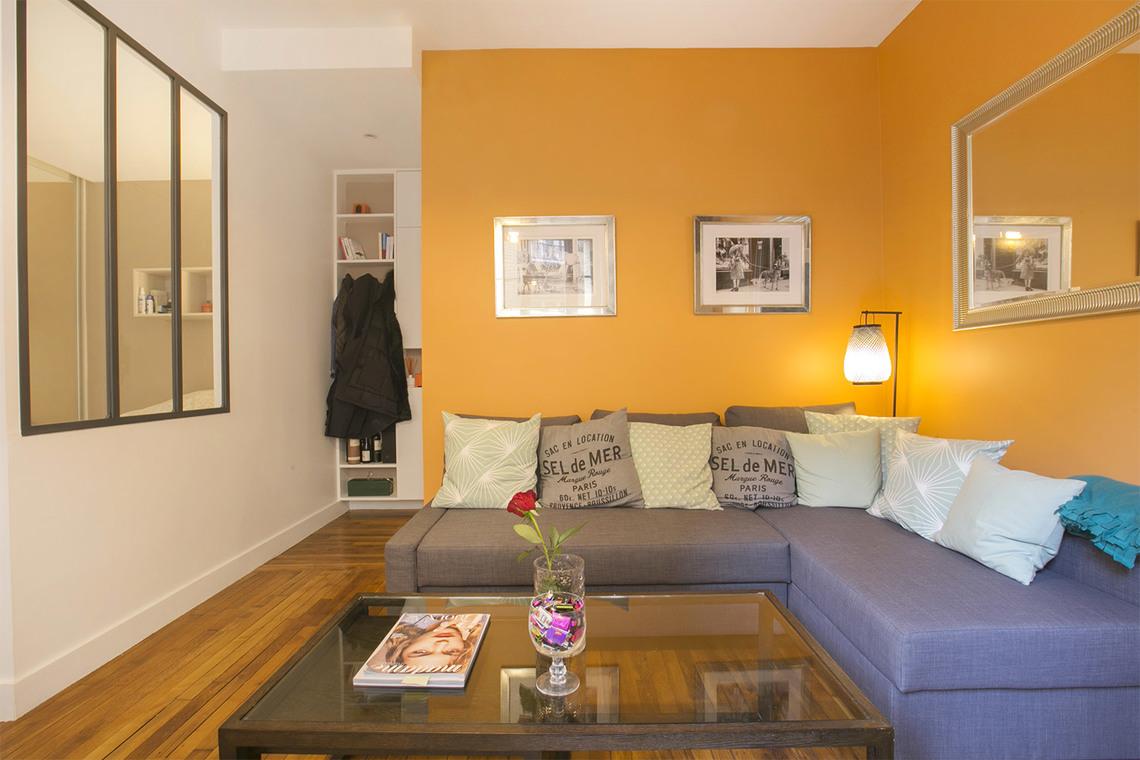 Location appartement meubl rue verniquet paris ref 14533 for Appartement meuble paris 17eme