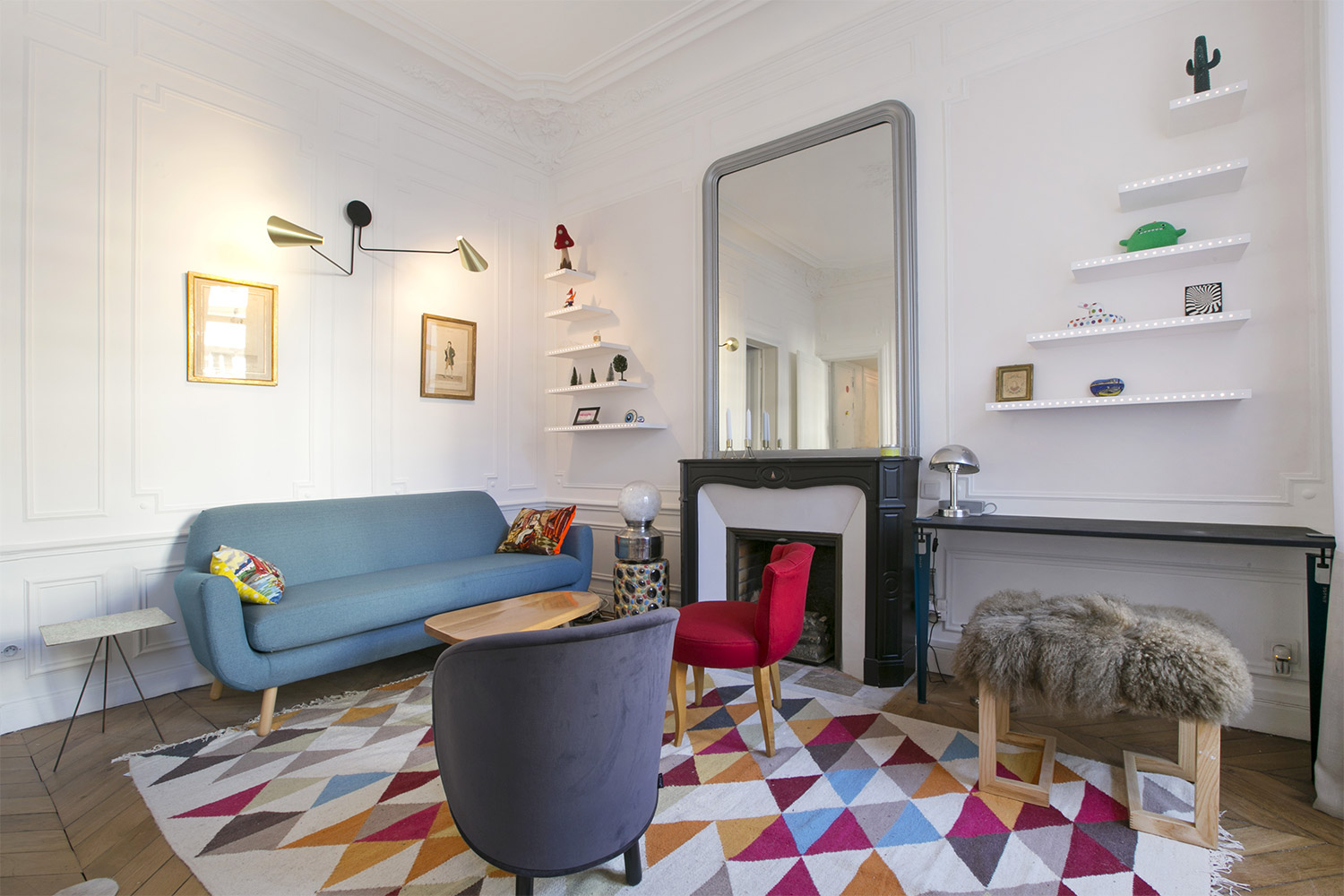 Apartment Paris boulevard Voltaire
