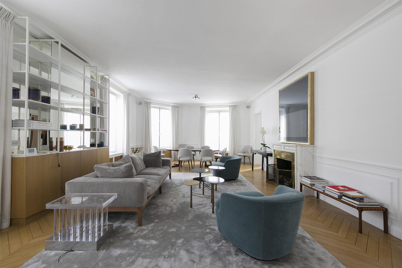 Apartment Paris rue des Beaux Arts