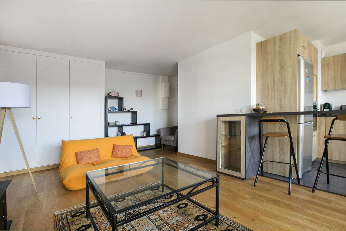 Apartment Paris Rue Saint Saens 2