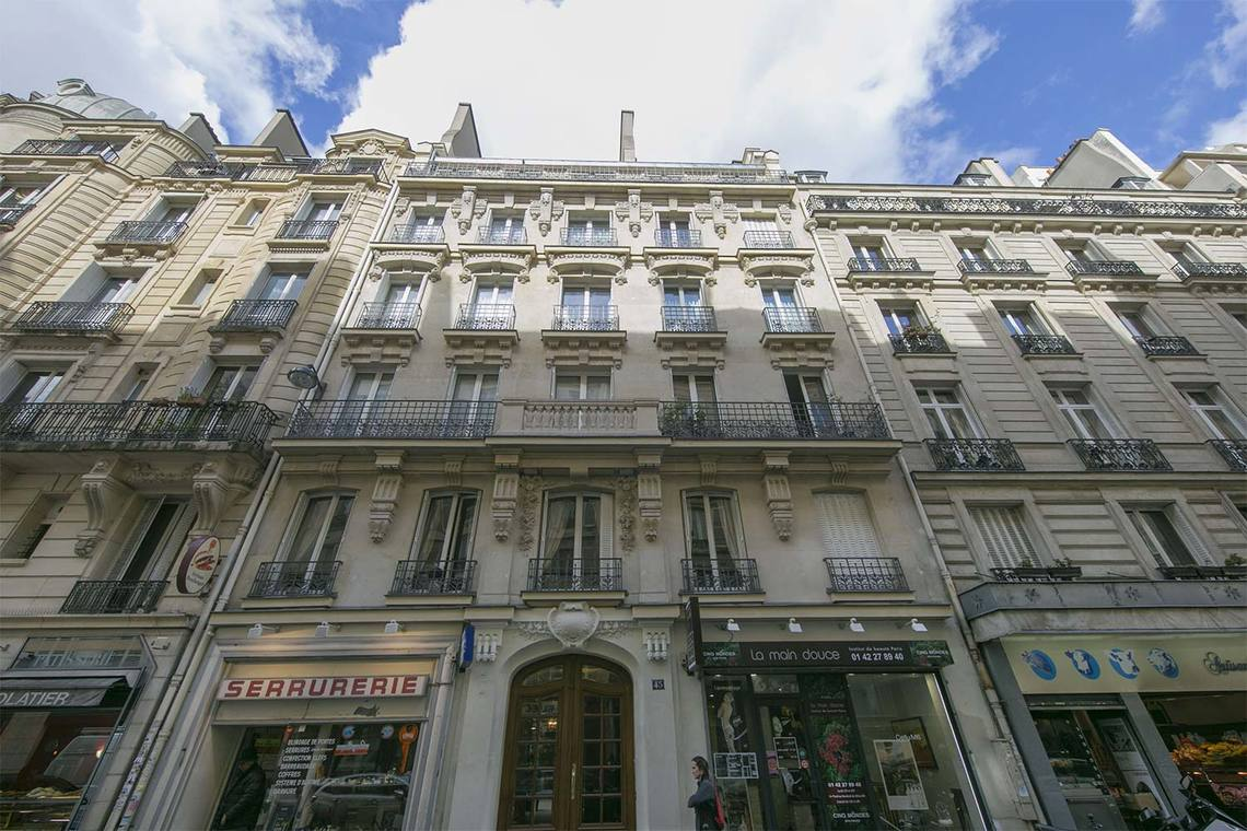 Apartment Paris Rue Poncelet 16