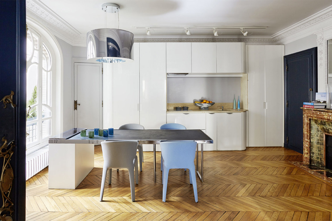 Apartment Paris Square Rapp 5