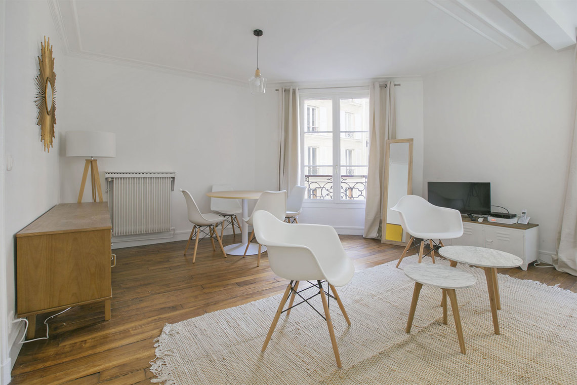 Appartement Paris Rue de Saussure 2