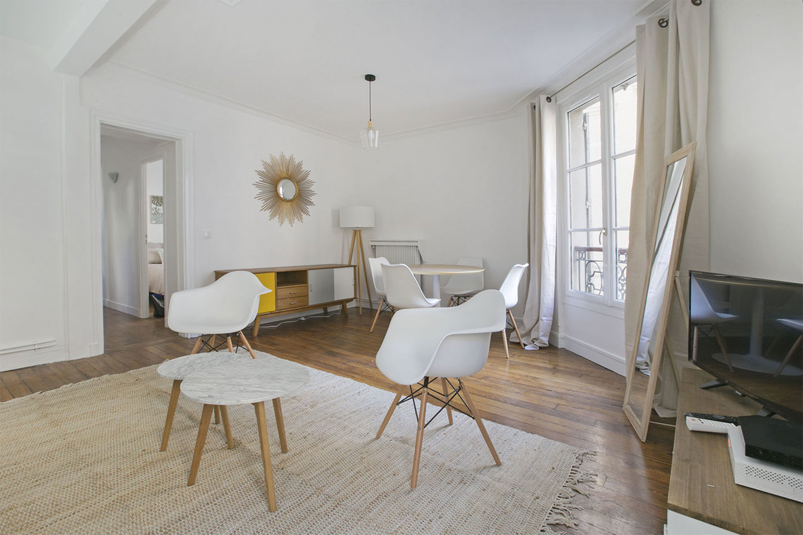 Appartement Paris Rue de Saussure 4
