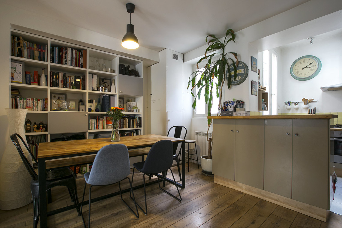 Apartment Paris Rue Nollet 3