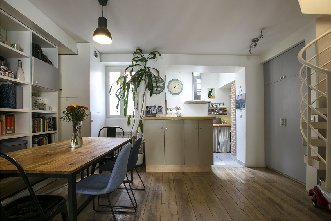 Apartment Paris Rue Nollet 4