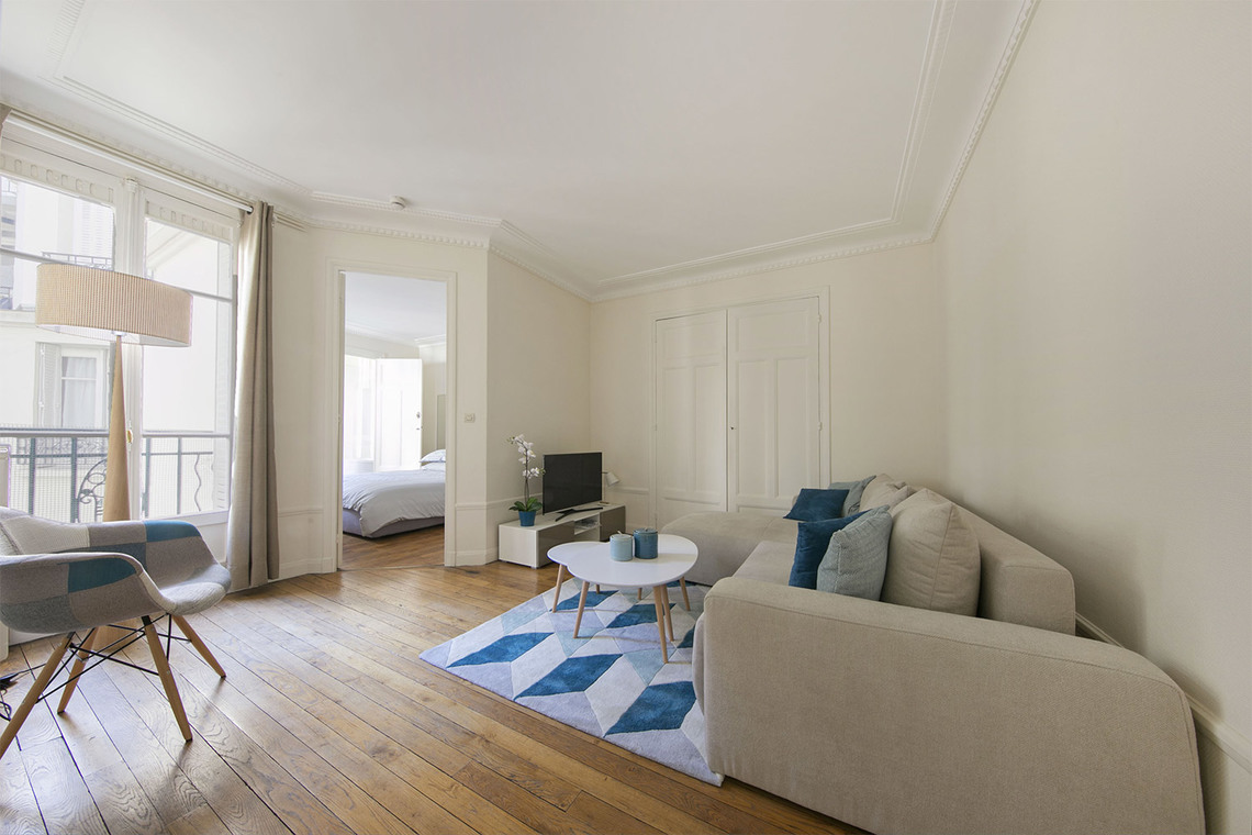 Furnished apartment for rent Paris Rue Saint Didier