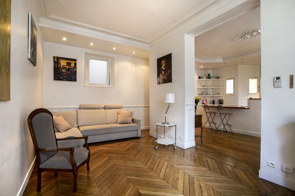 Furnished apartment for rent Paris Rue de l'Aqueduc