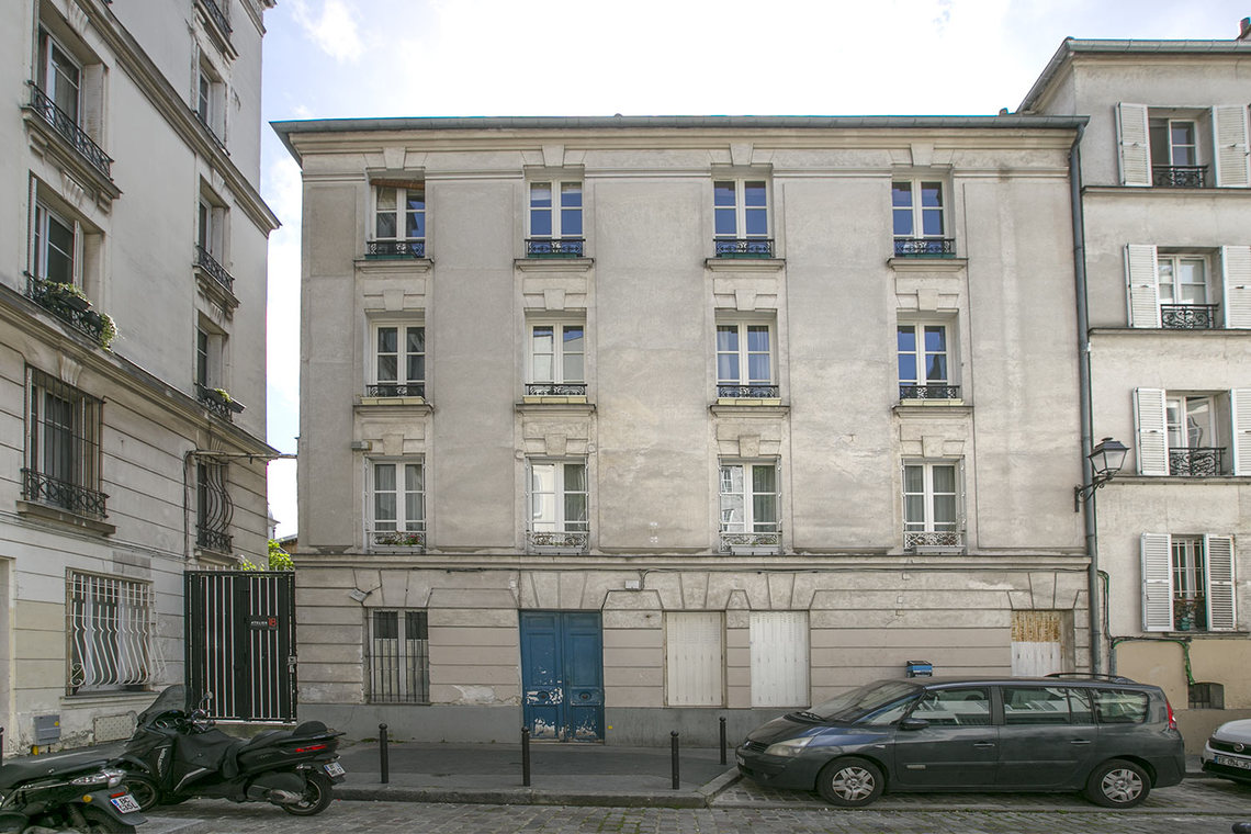 Appartement Paris Passage des Abbesses 11