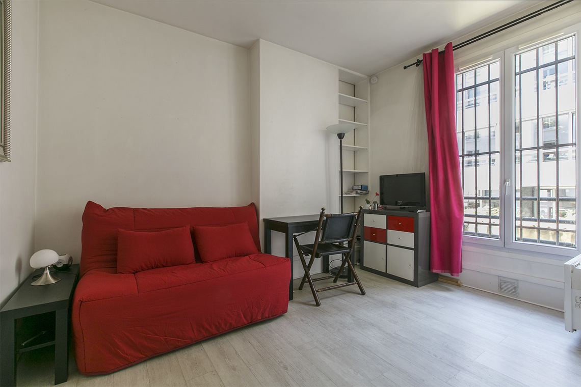 Furnished apartment for rent Paris Rue du Mont Cenis