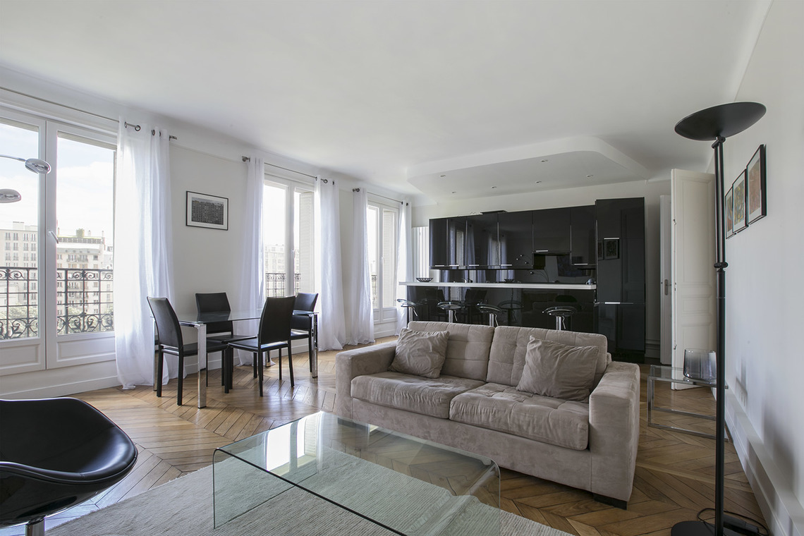 Furnished apartment for rent Paris Boulevard Bourdon