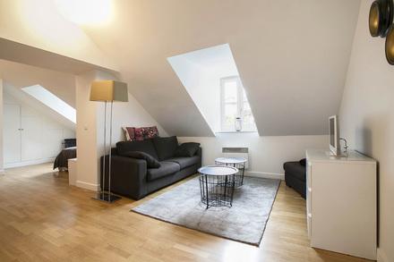 appartement meubl 19 me arrondissement de paris 75019. Black Bedroom Furniture Sets. Home Design Ideas