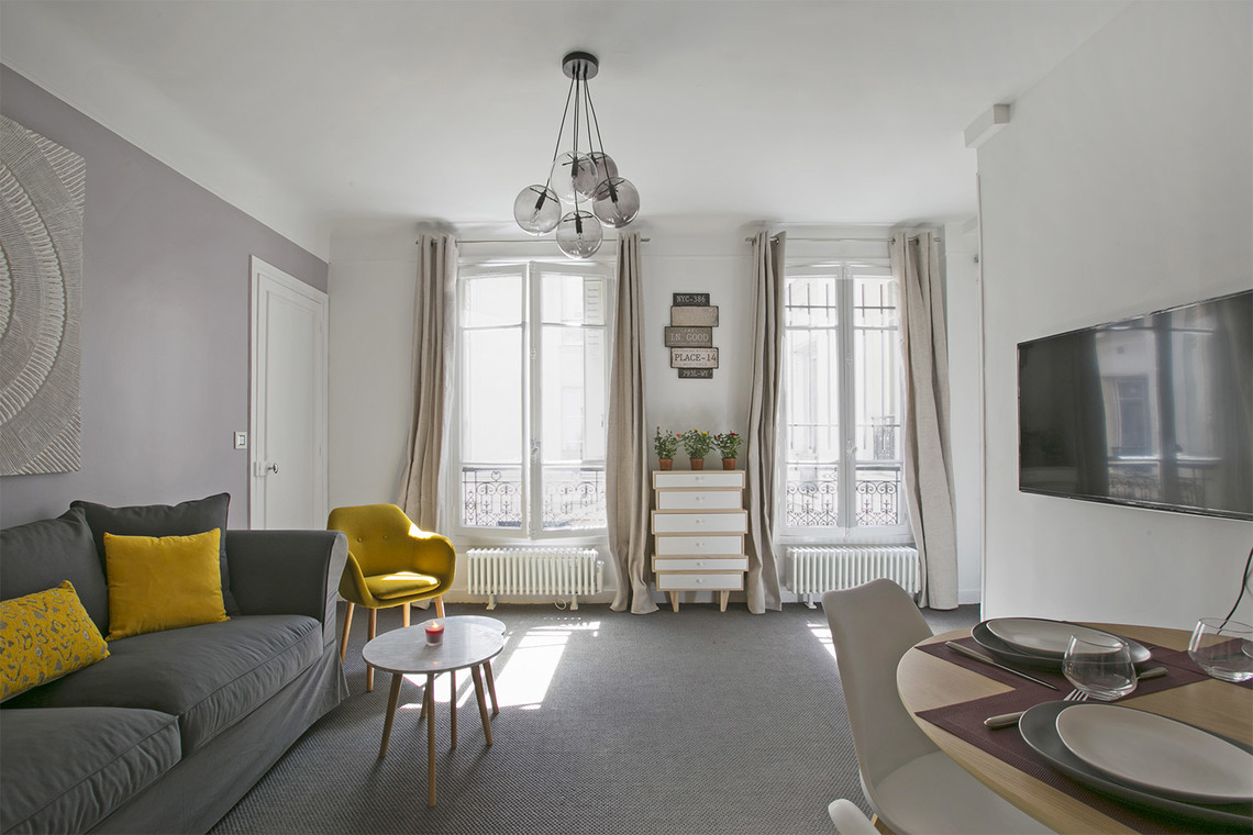 Paris Rue Fourcroy Apartment for rent
