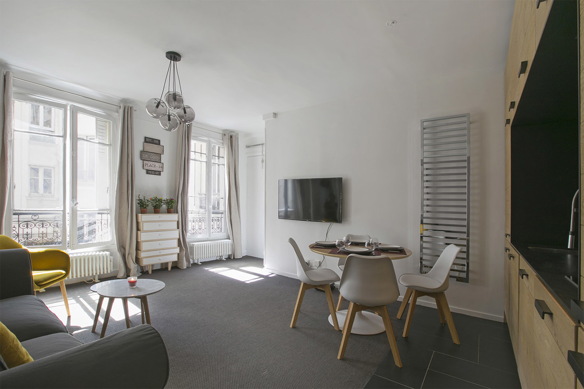 Apartment Paris Rue Fourcroy 3