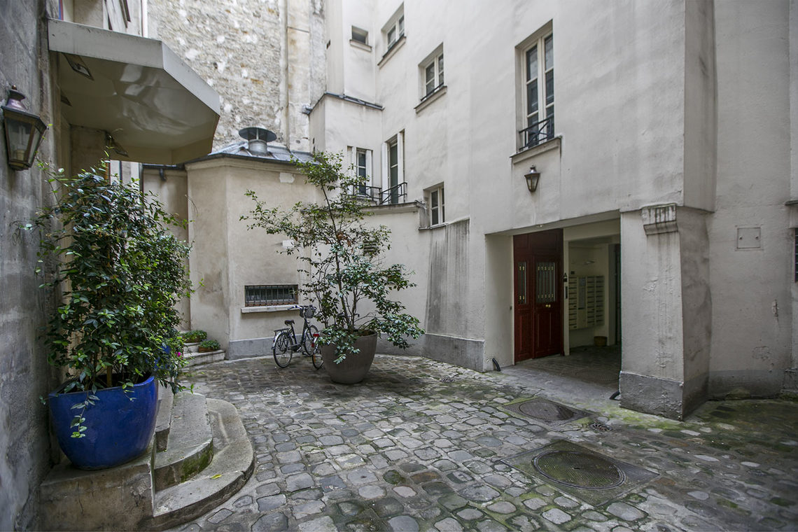 Appartement Paris Rue Quincampoix 9