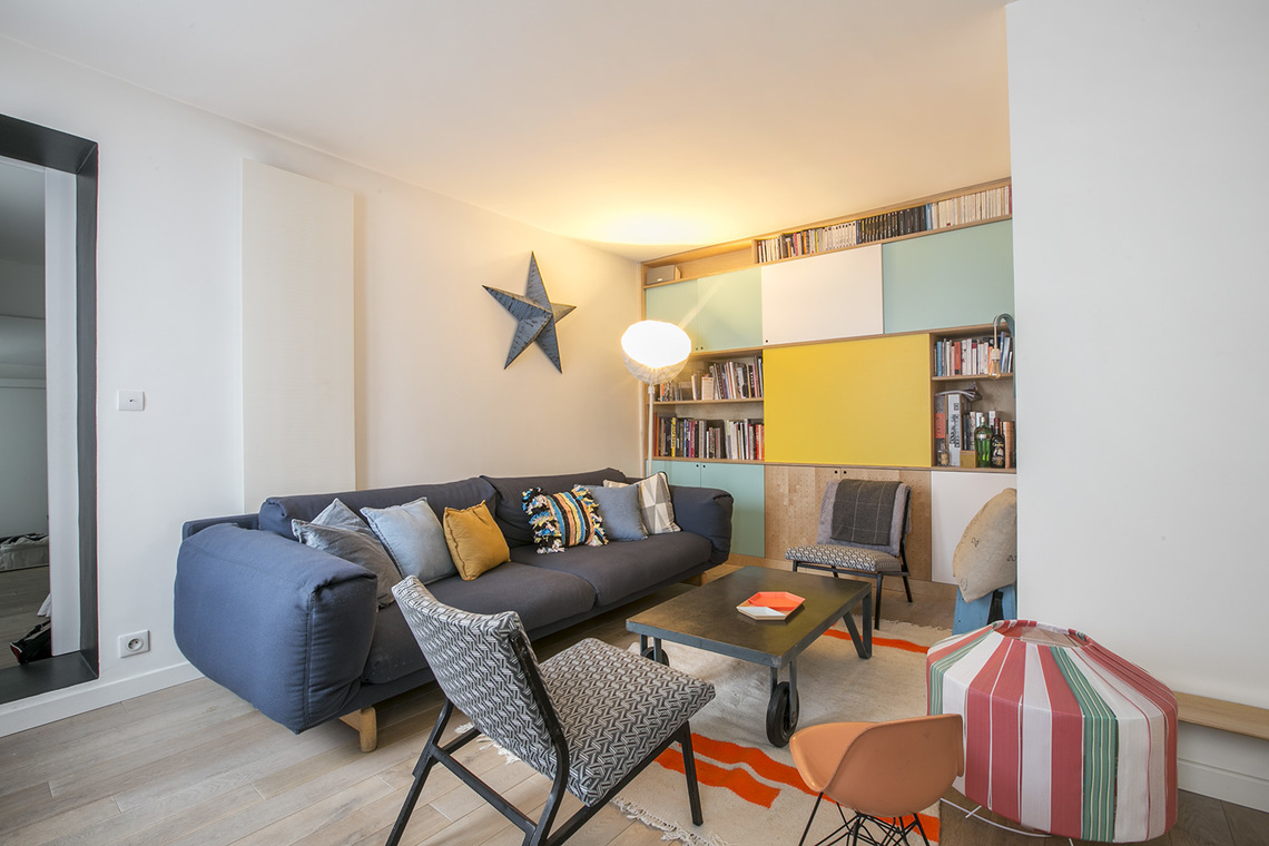 Furnished apartment for rent Paris Rue de Paradis