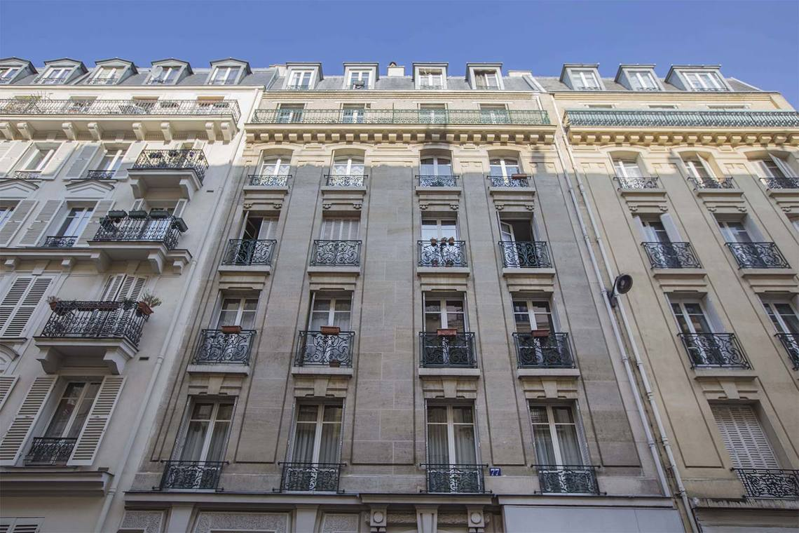 Apartment Paris Rue Duhesme 12