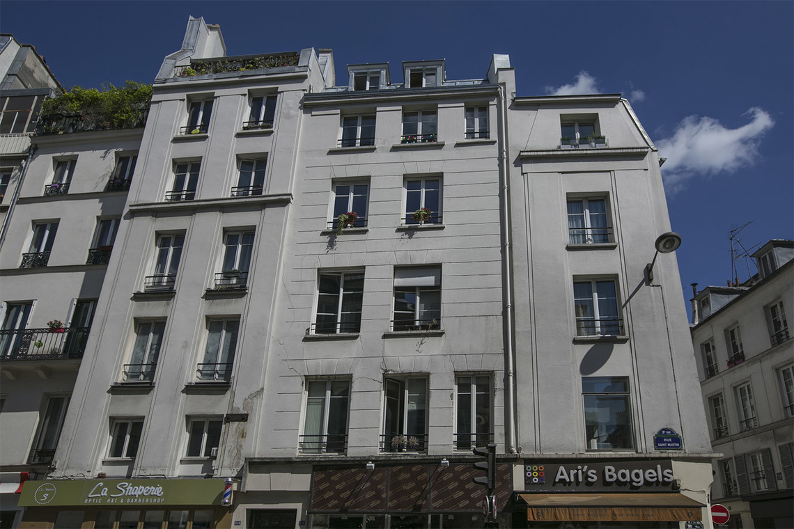 Apartment Paris Rue Saint Martin 13