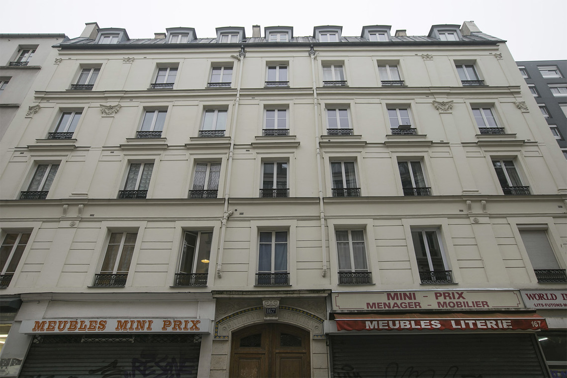 Квартира Paris Rue Saint Maur 17