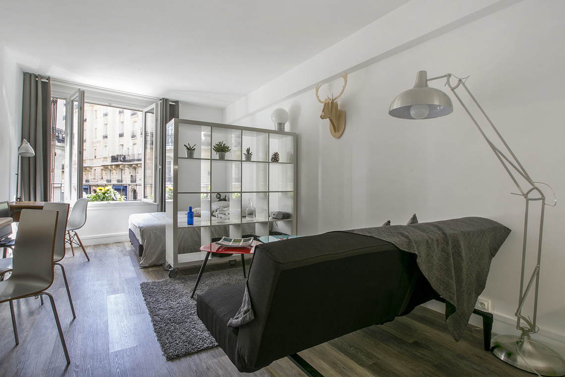 Furnished apartment for rent Paris Rue Etex