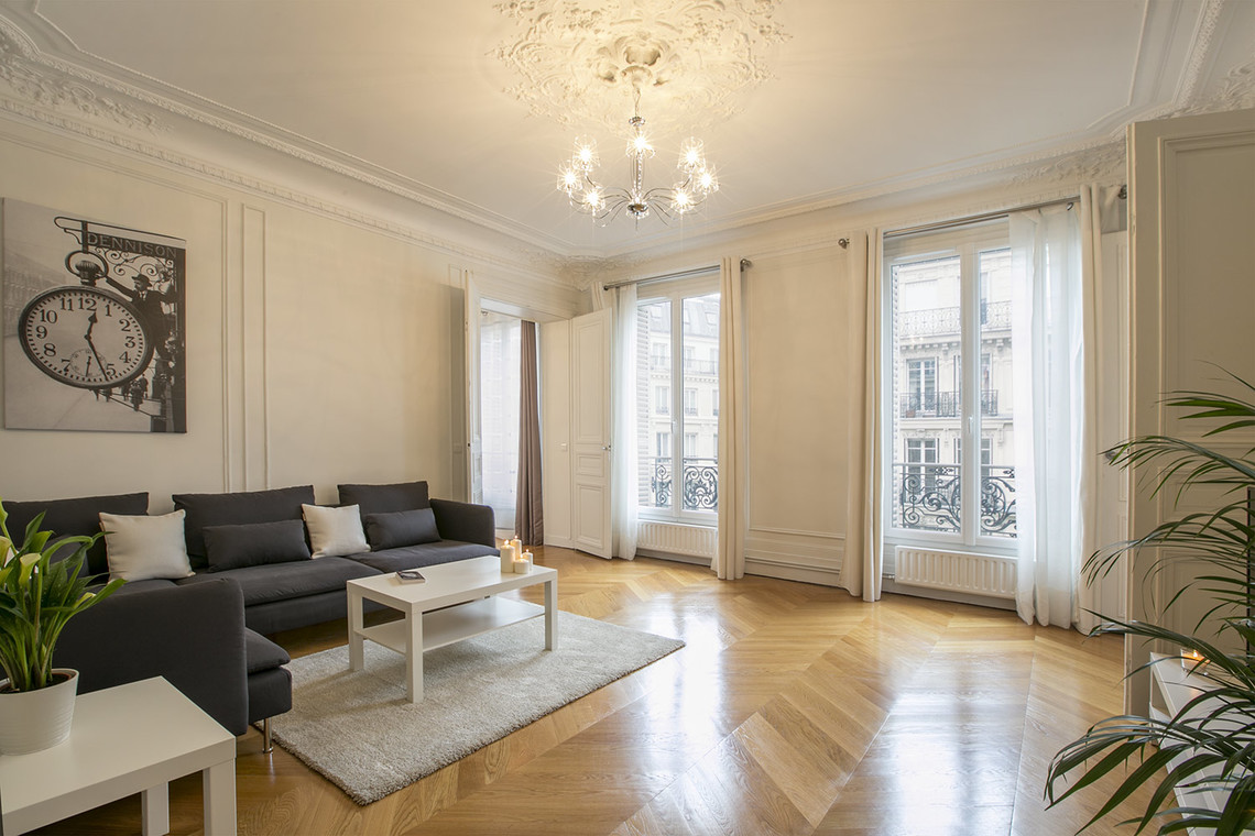 Möblierte Mietwohnung Wohnung Rue La Fayette Paris Ref 15112