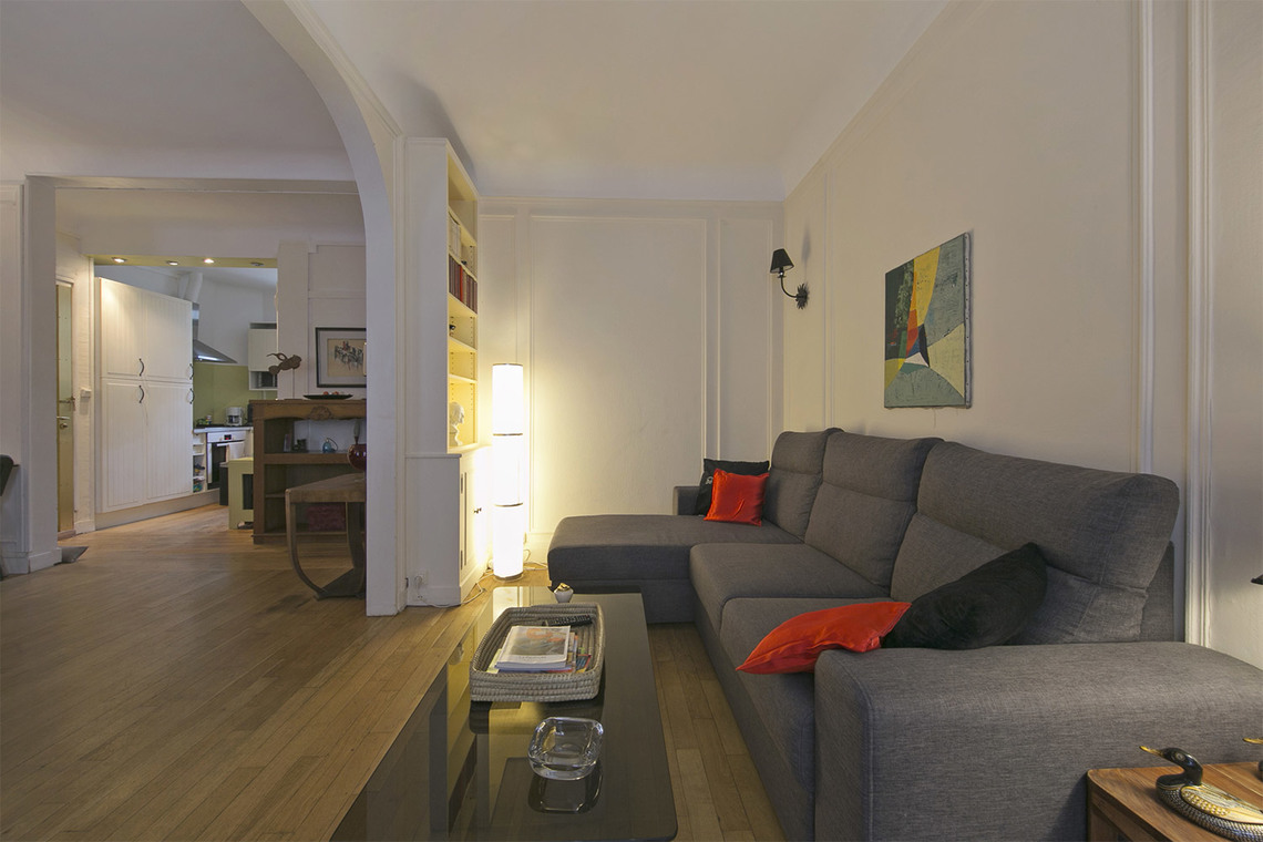 Furnished apartment for rent Paris Rue Théodore Deck