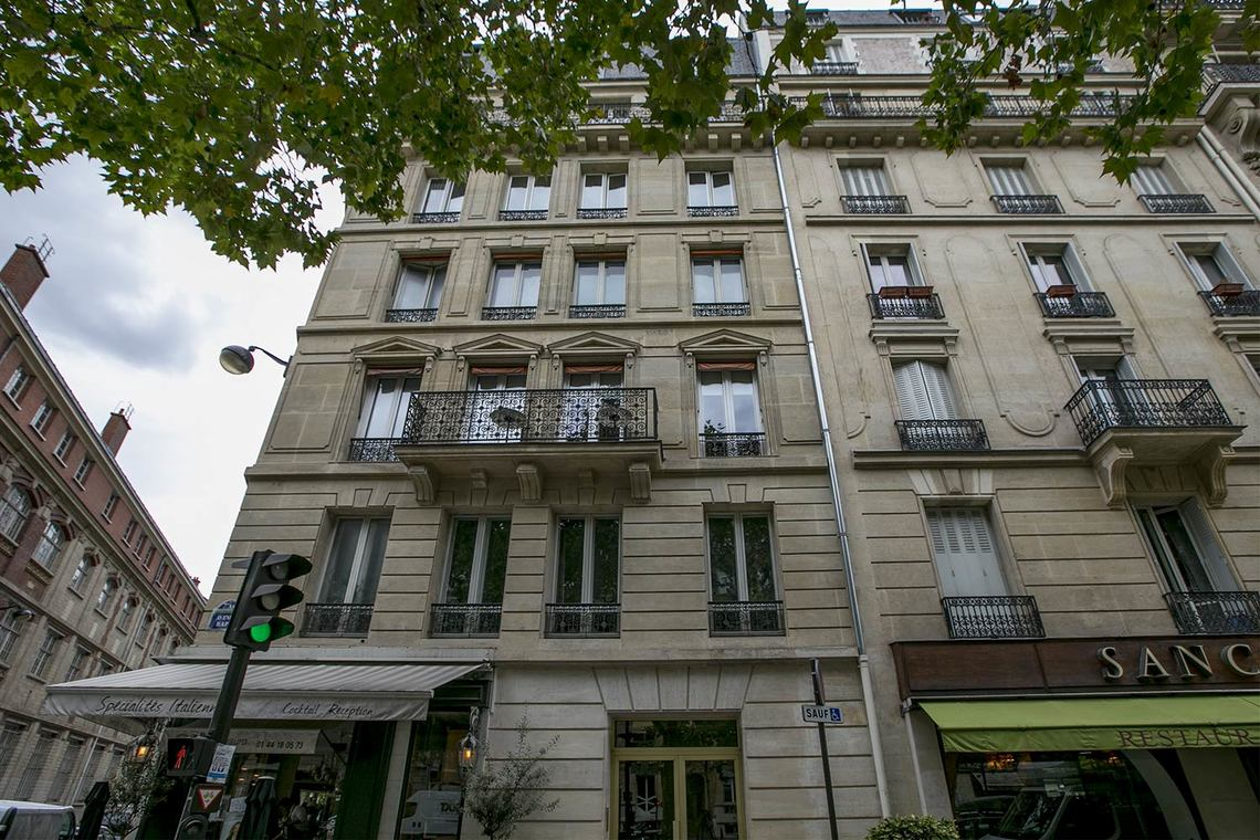 Квартира Paris Avenue Rapp 10