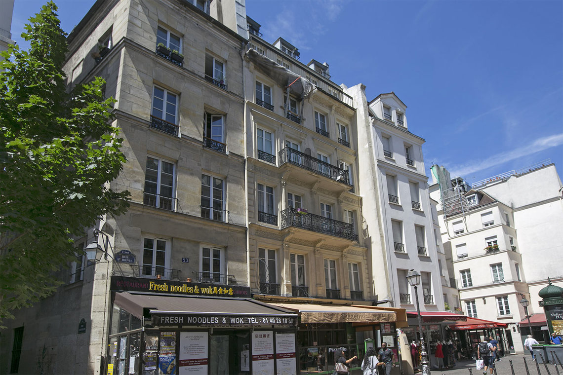 Apartment Paris Rue Courtalon 10