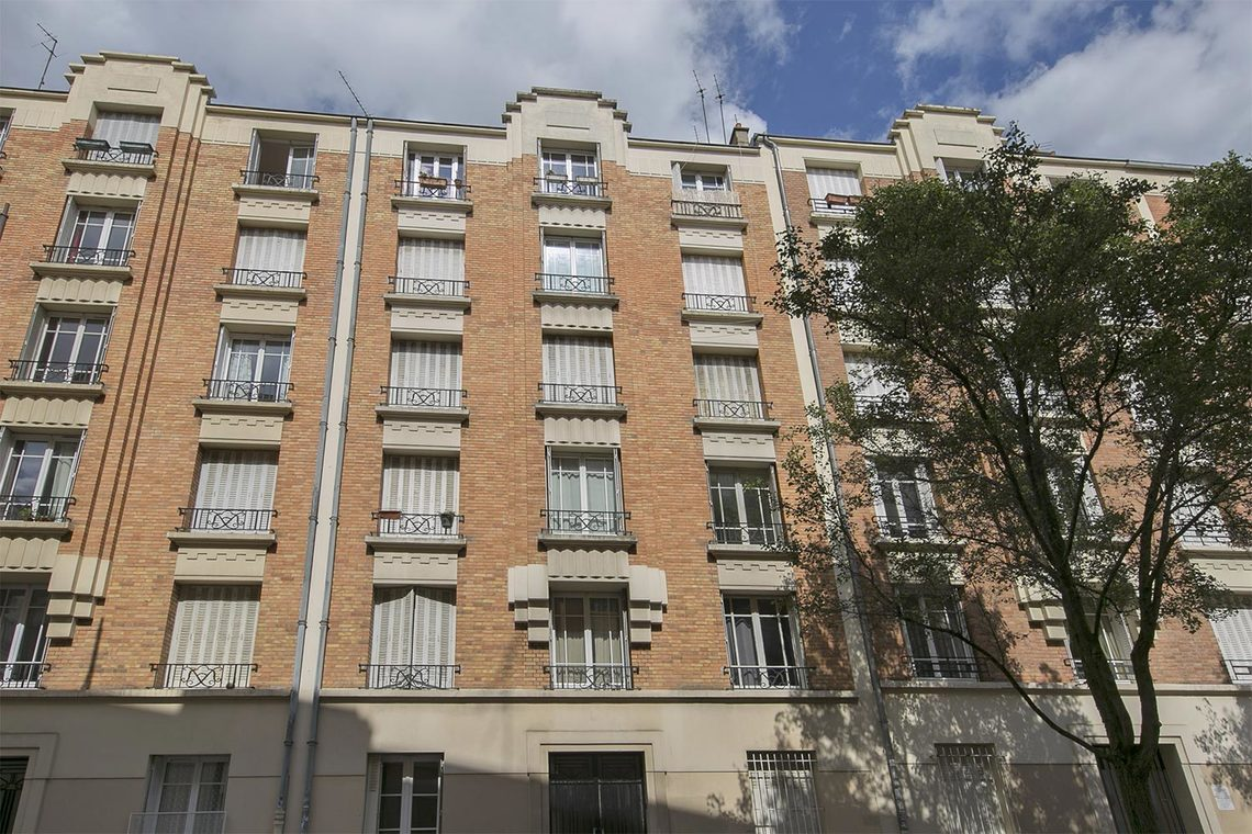 Appartement Paris Rue Victor Gelez 14