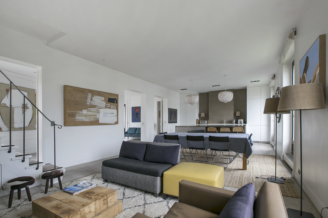 Appartement Paris Boulevard de Courcelles 4