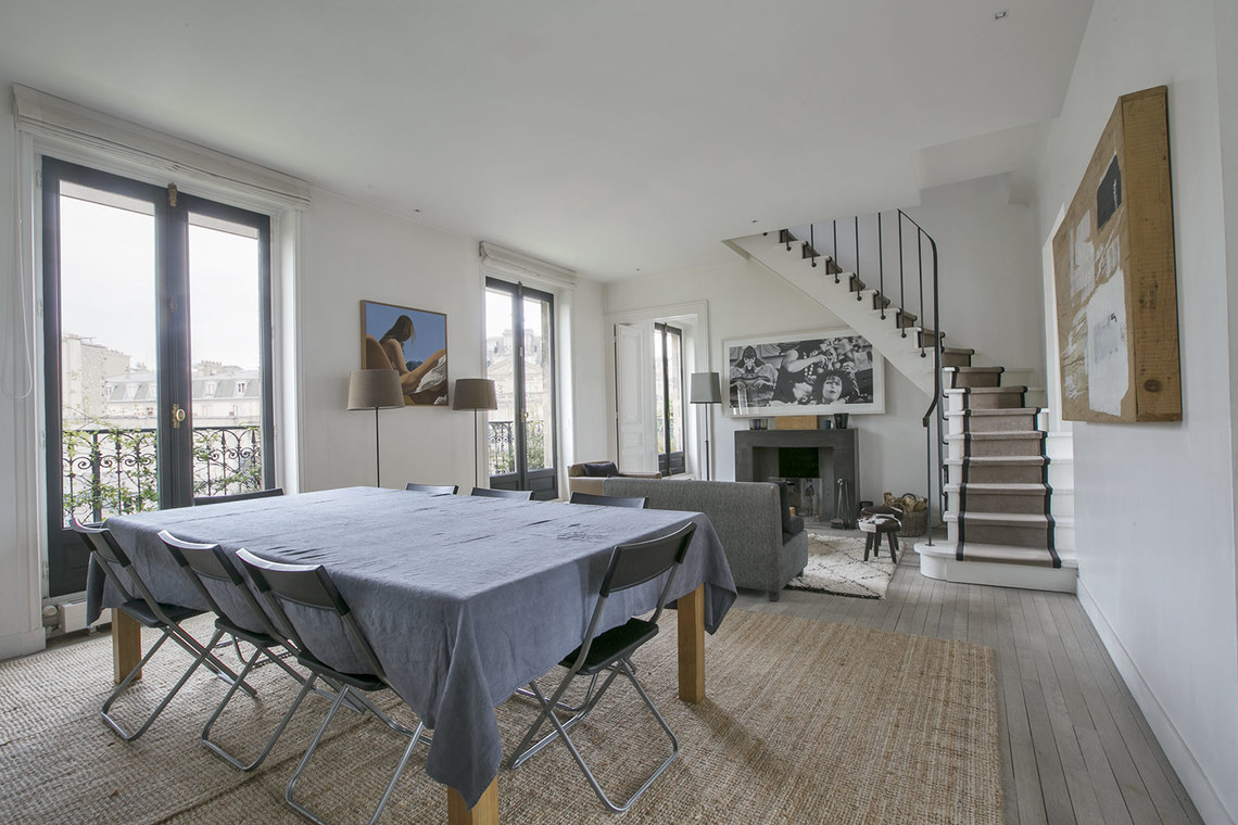 Appartement Paris Boulevard de Courcelles 5