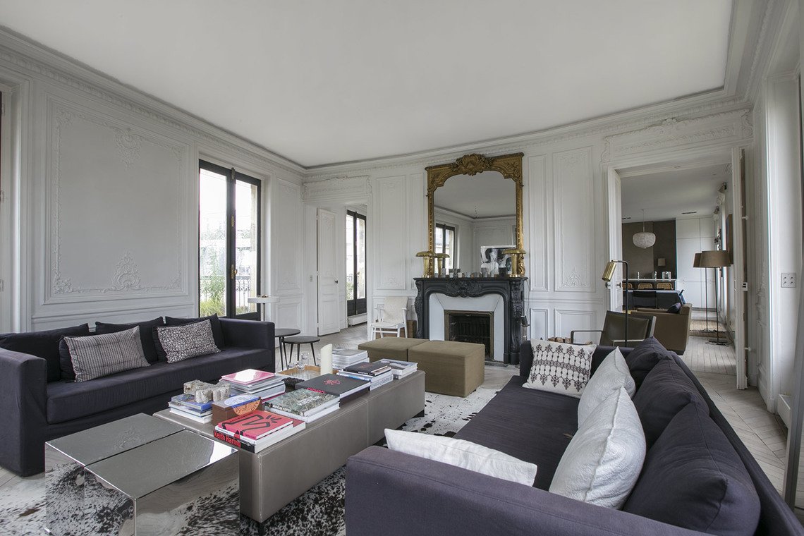 Appartement Paris Boulevard de Courcelles 2