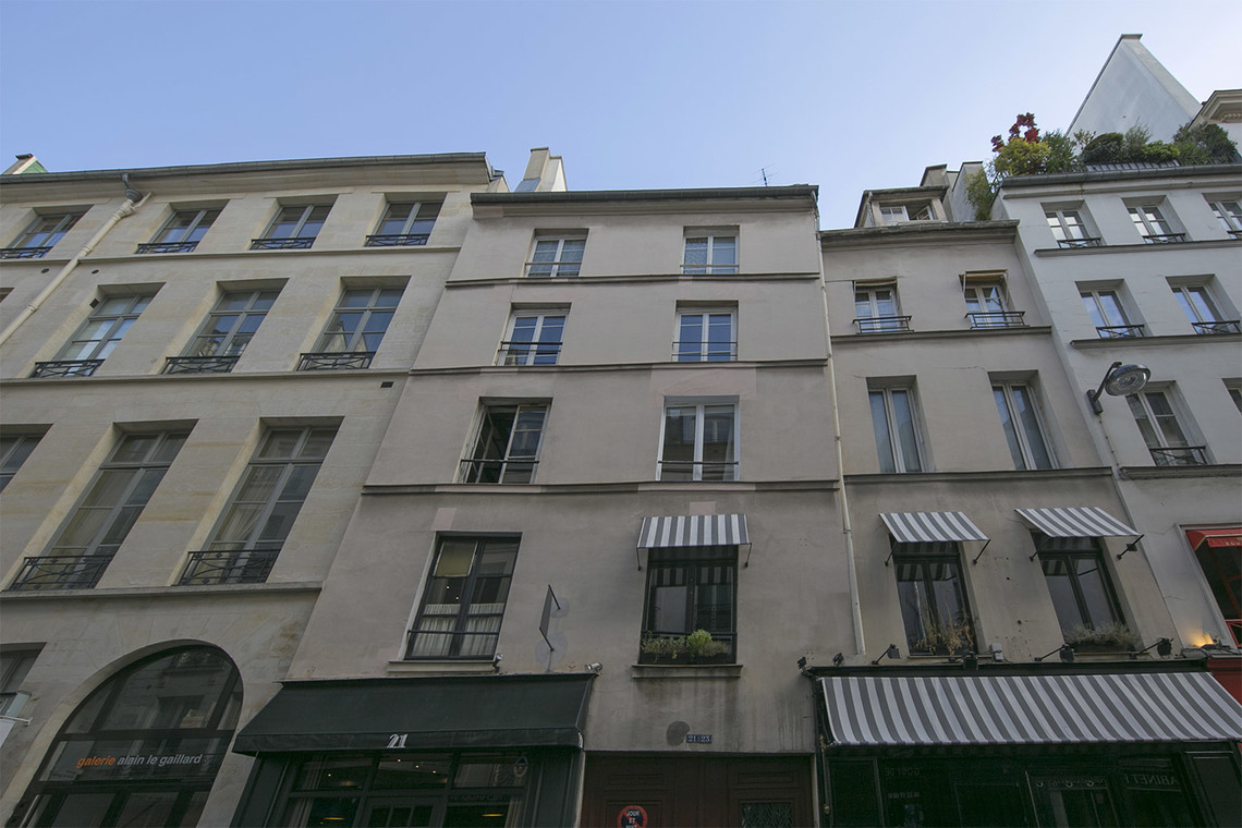 Appartement Paris Rue Mazarine 17