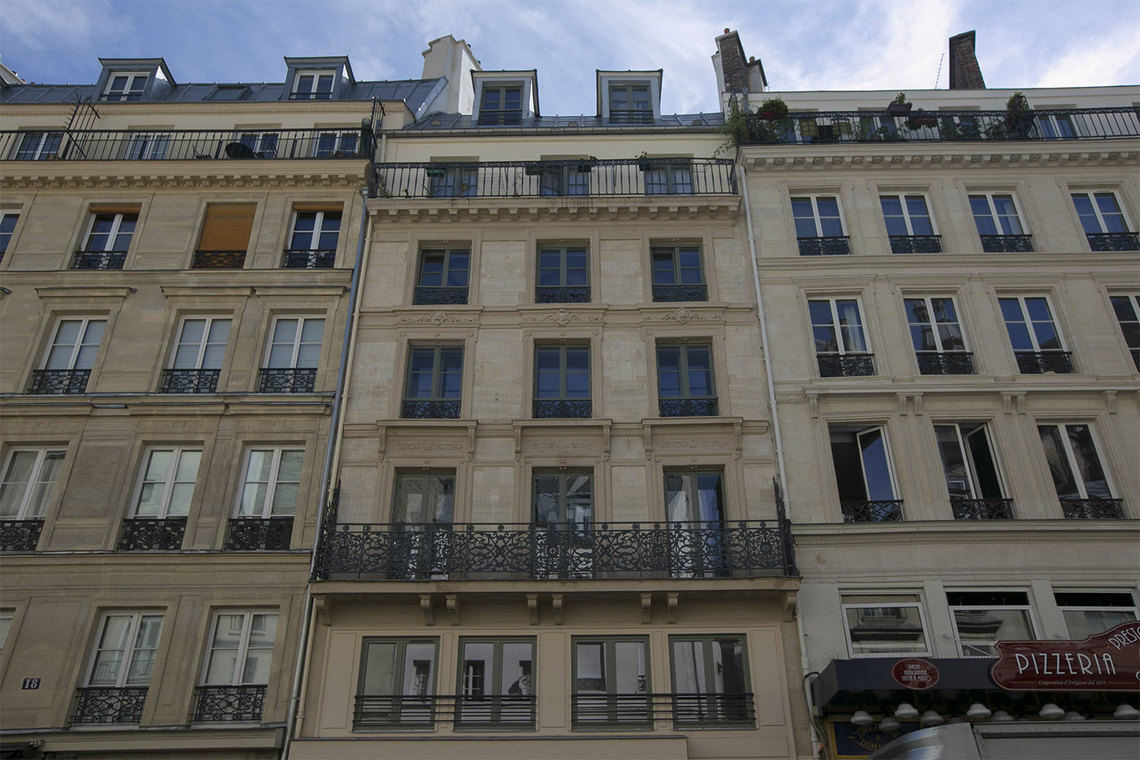 Appartement Paris Rue Montmartre 13