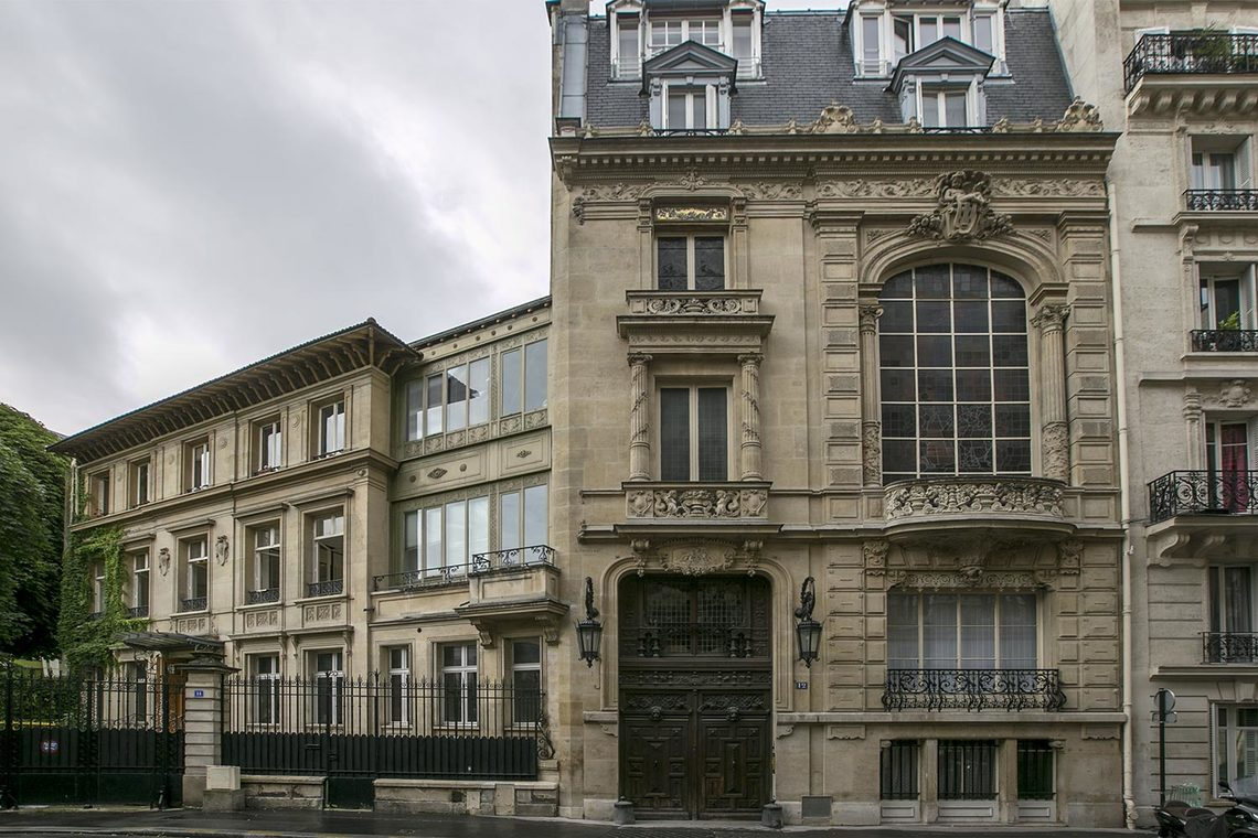 Appartement Paris Rue du Cardinal Mercier 12
