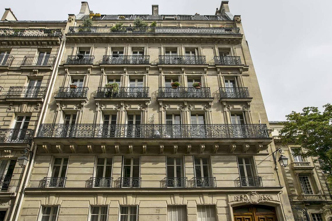 Appartement Paris Rue du Cardinal Mercier 11