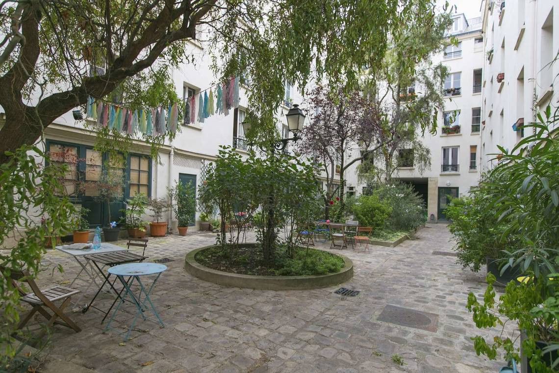 Квартира Paris Rue de l'Agent Bailly 9