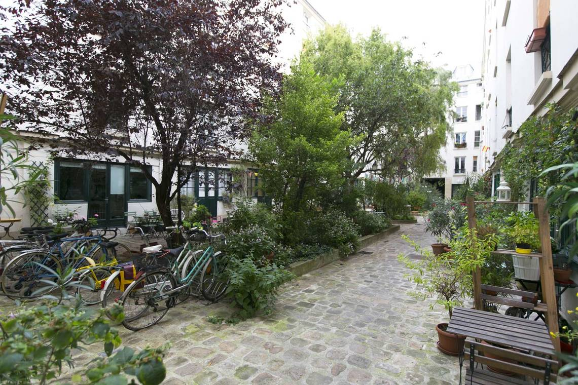 Appartement Paris Rue de l'Agent Bailly 8