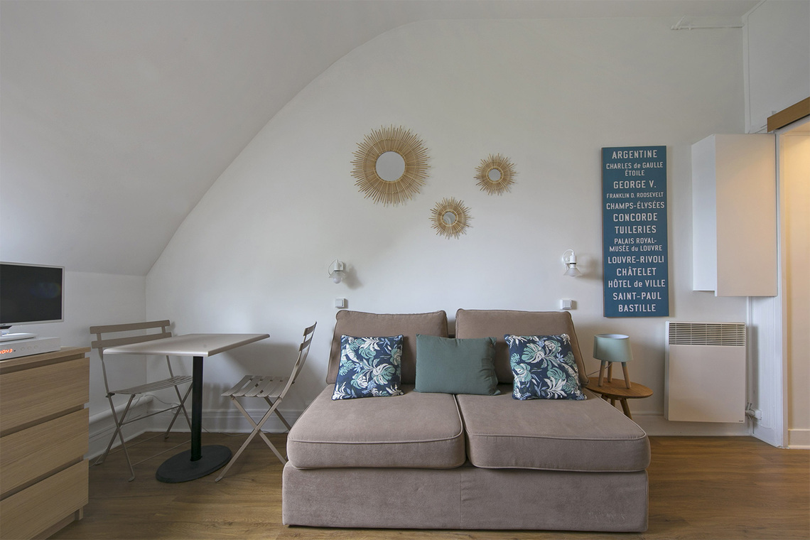 Apartment Paris Rue Coetlogon 4
