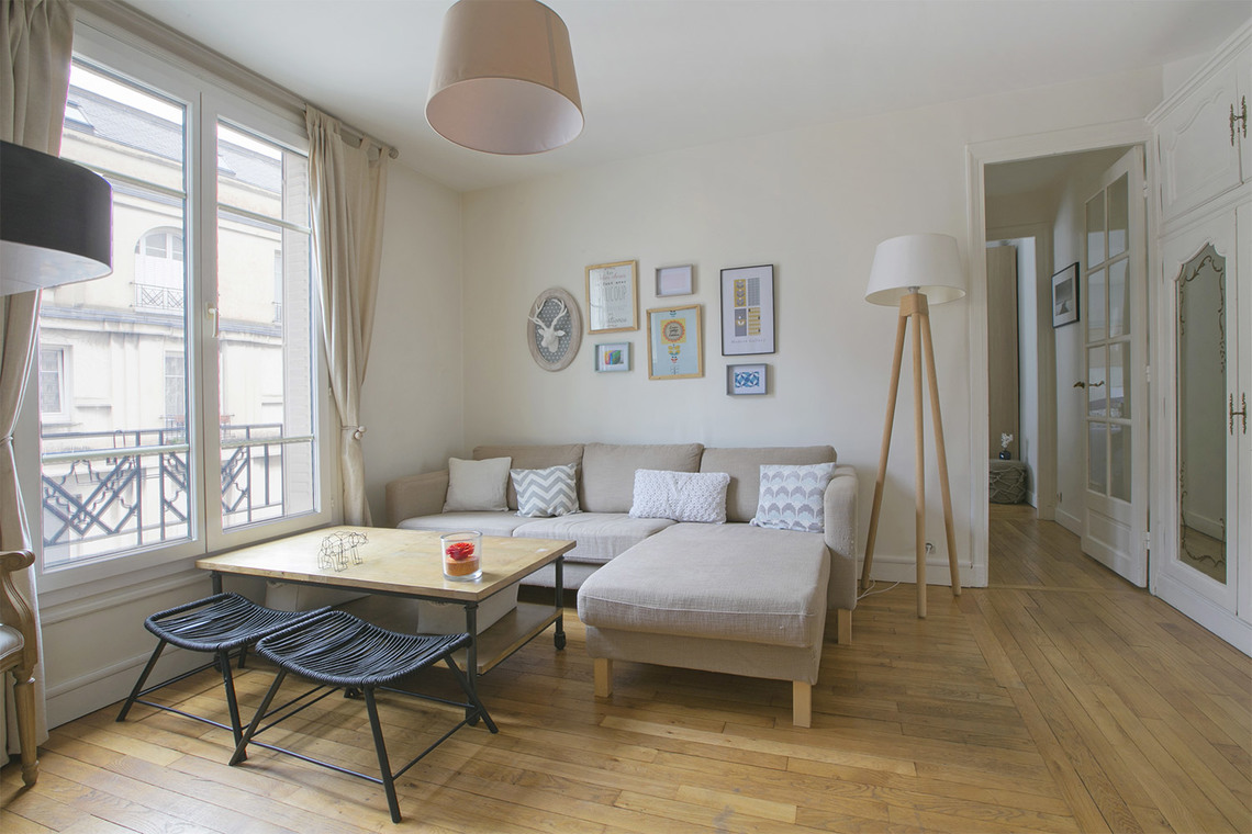 Furnished apartment for rent Paris Square Jouvenet