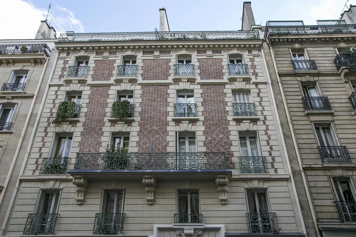 Appartement Paris Rue Denis Poisson 19