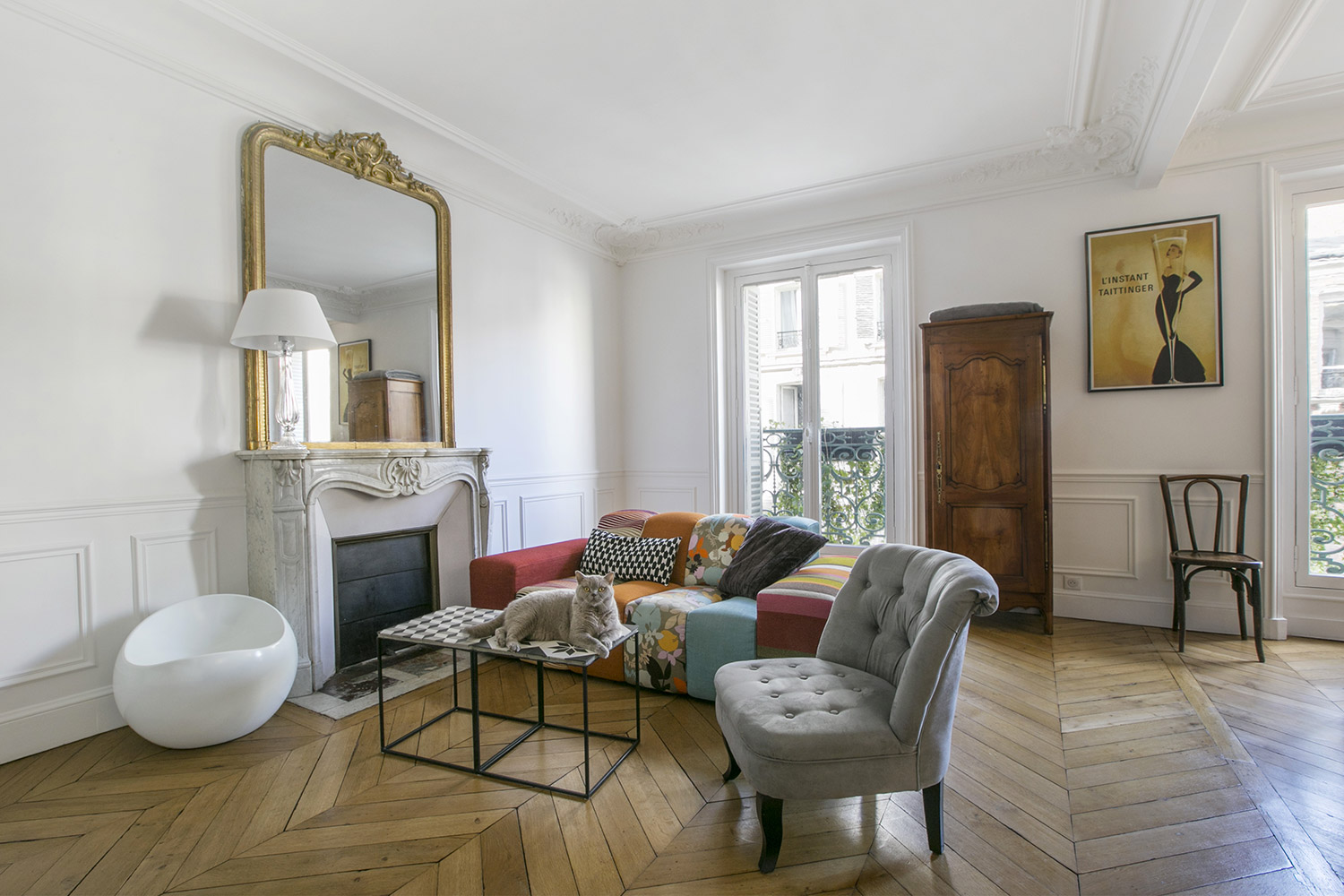 Apartment Paris rue Denis Poisson